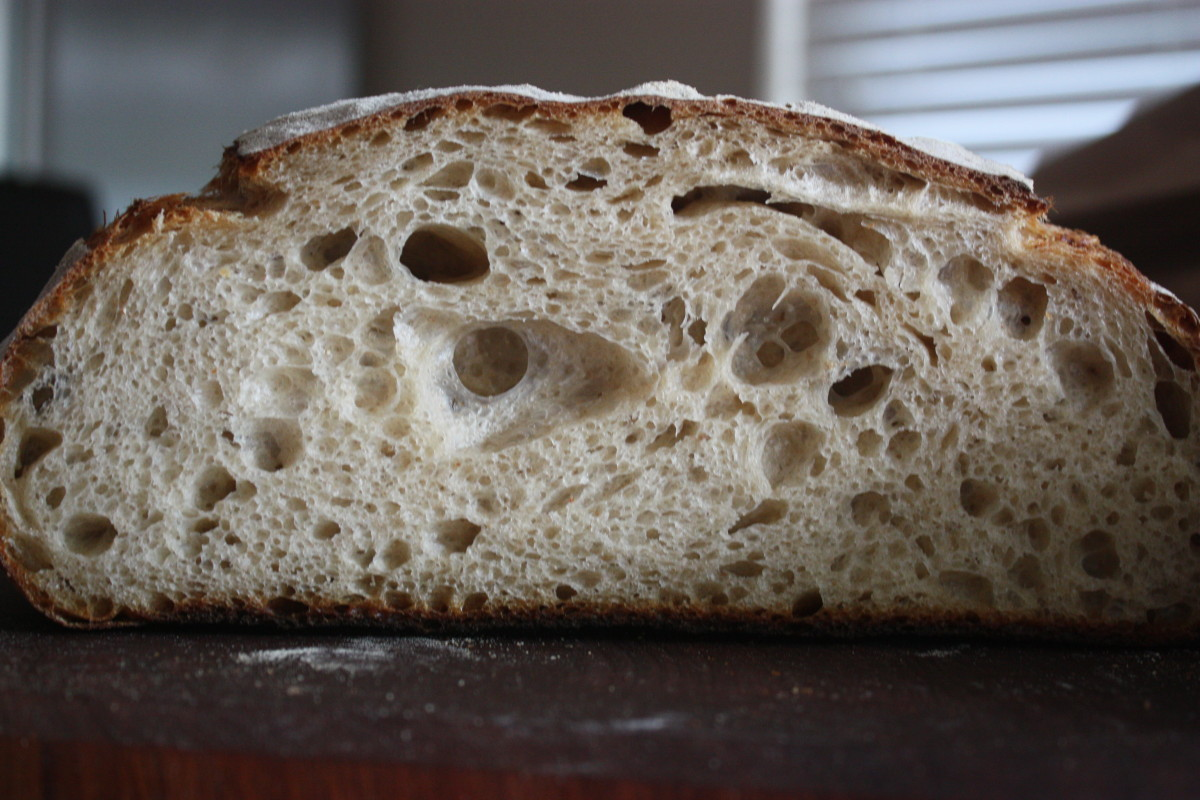 Tartine Sourghdough with 4g instant yeast