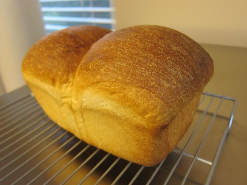 Hokkaido milk bread with tang zhong