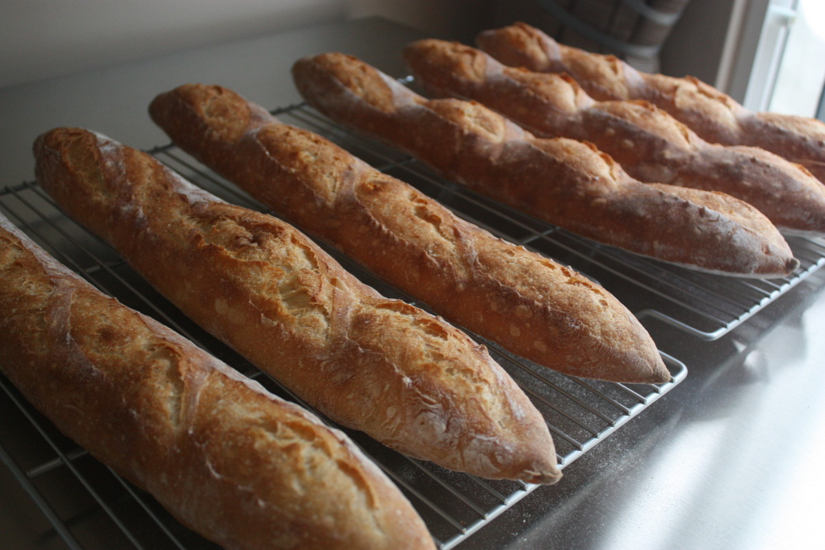 Poolish Baguettes Recipes — Dishmaps