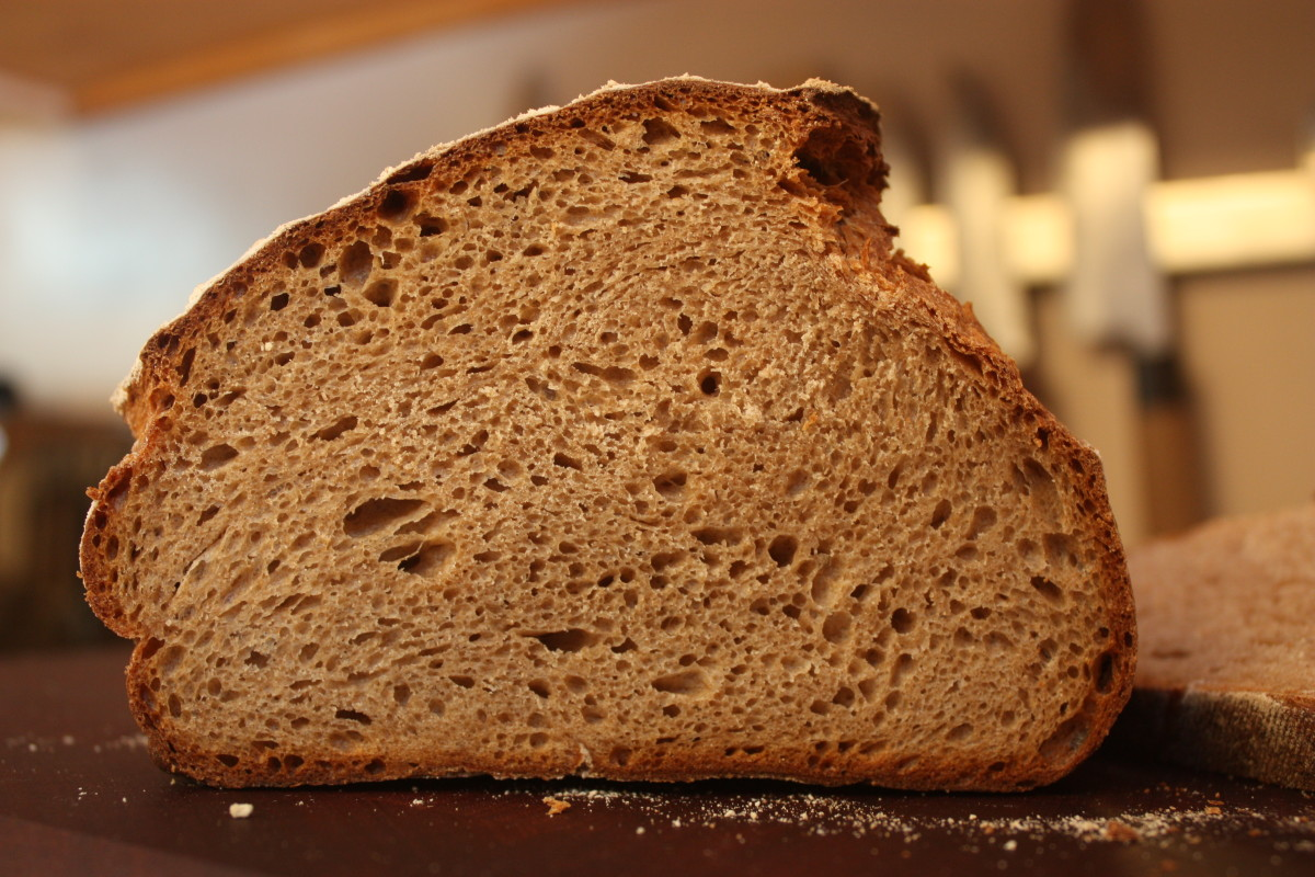 Everyday whole wheat close-up