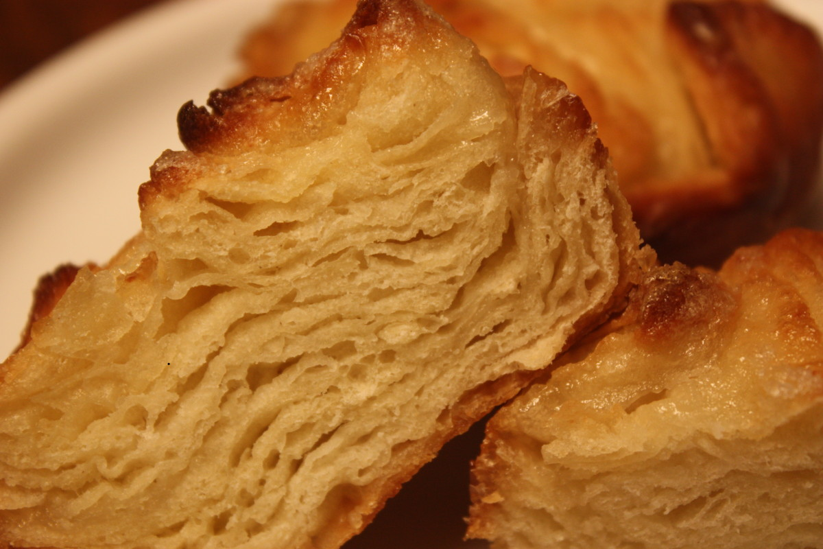 Kouign Amann Recipe (adapted from David Lebovitz's recipe )